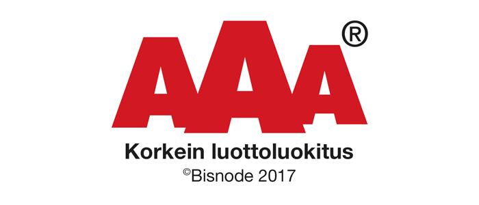 Creamailerille jälleen AAA, Dun & Brandstreet ja Suomen Vahvimmat -luottoluokitukset