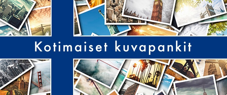 Kotimaiset kuvapankit - laatukuvia Suomesta