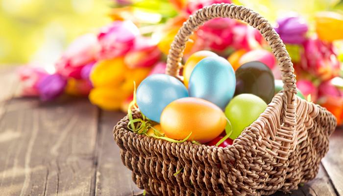 Lähetä pääsiäistervehdykset Creamailerin pääsiäisviestipohjilla