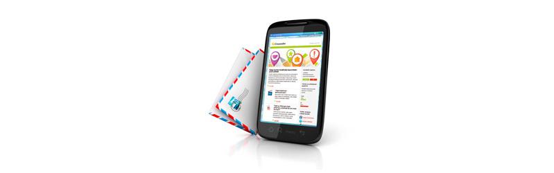 Mobiililaitteet ja sähköposti