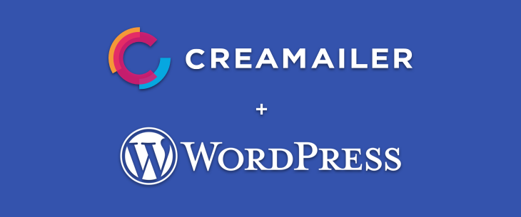 Creamailer + WordPress
